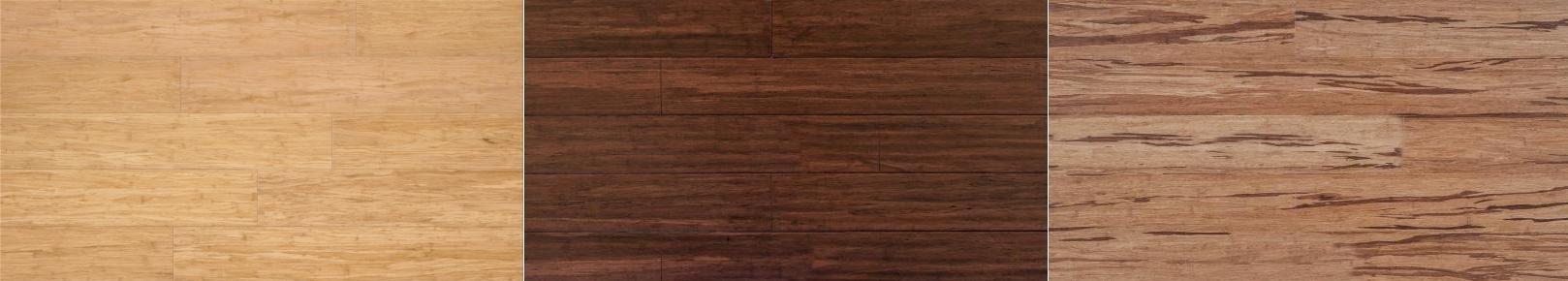 Bambusové podlahy - dekory