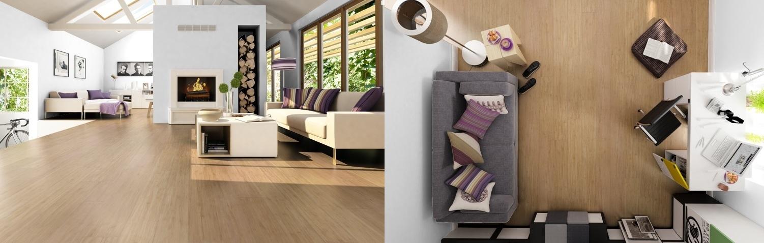 Údržba bambusové podlahy