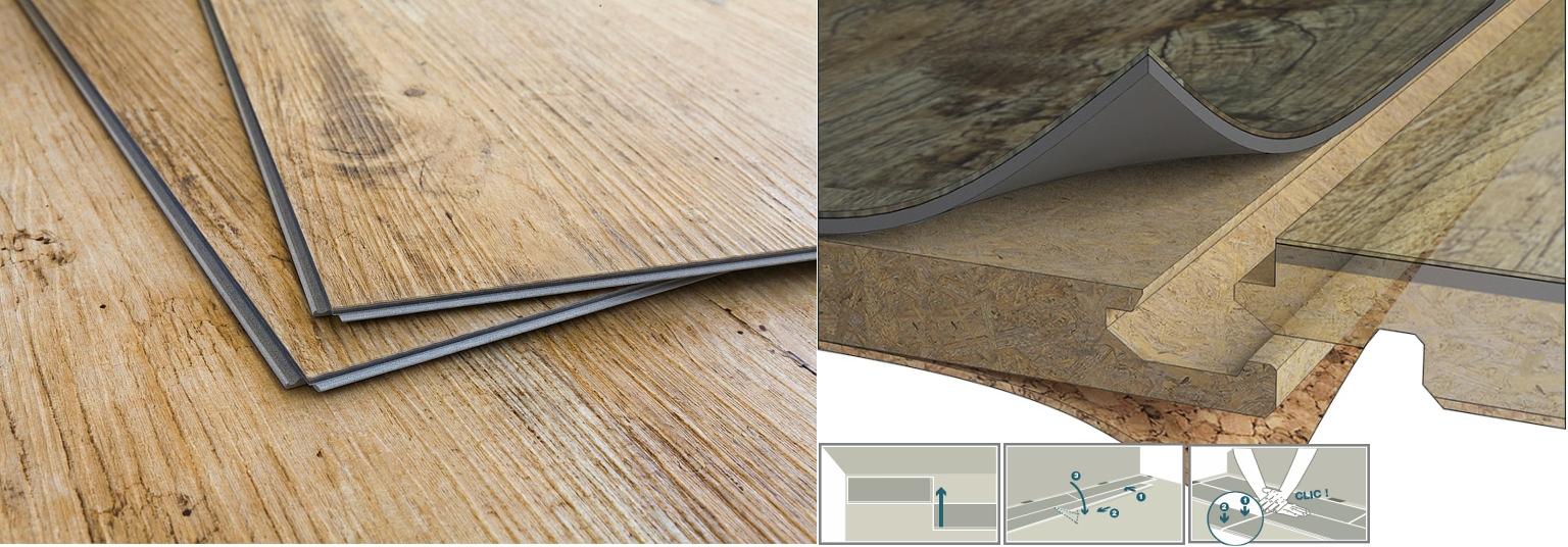 Plovoucí vinylové podlahy Expona