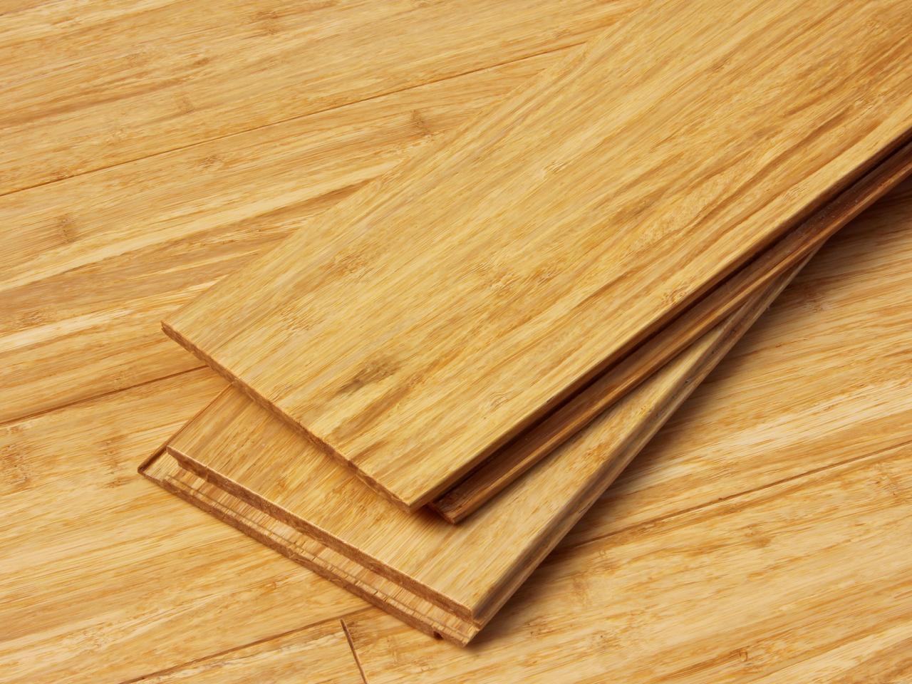 Pokláda bambusové podlahy Click Lock Cali