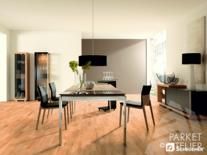 Dřevěné podlahy scheucher
