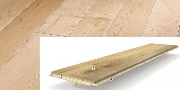 Plovoucí dřevěná podlaha Parador Trendtime1