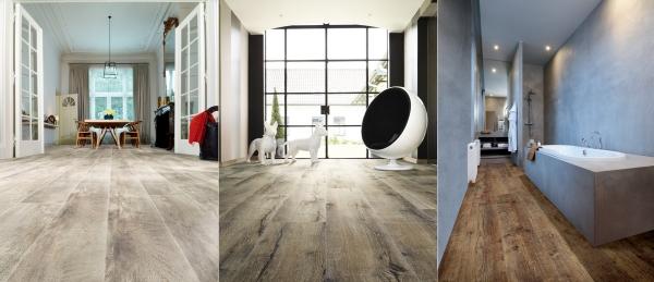 Rozdíl mezi lepenými a zámkovými vinylovými podlahami