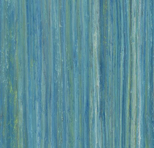 Marmoleum Forbo Linear Striato Colour - 5243 peacock blue