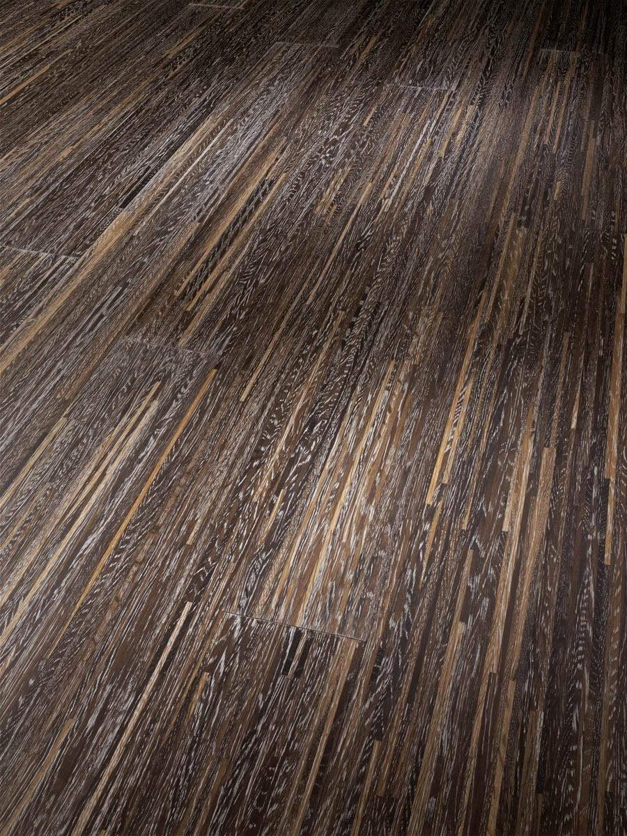Dřevěné podlahy Parador Trendtime 1 Natur 1257349 - Dub kouřový bělený proužky