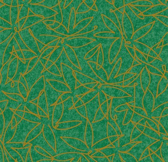 Vinylové podlahy Forbo Flotex vision floral 500006 Field Moss