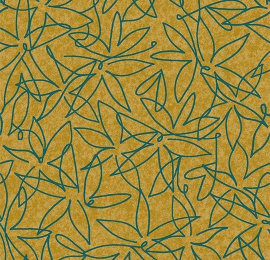 Vinylové podlahy Forbo Flotex vision floral 500008 Field Lemon
