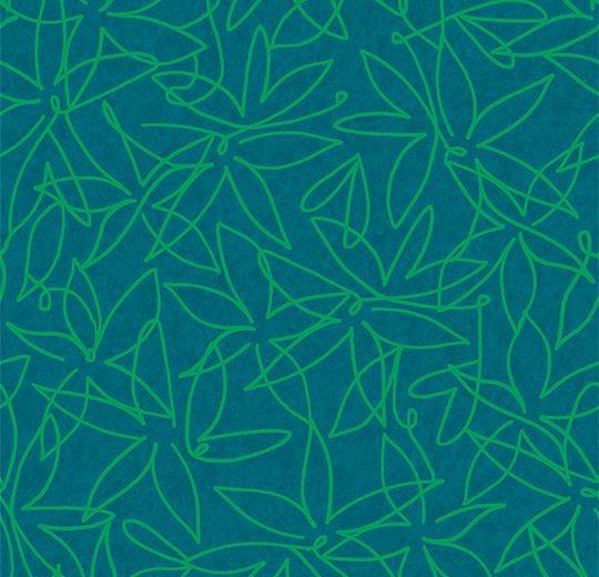 Vinylové podlahy Forbo Flotex vision floral 500012 Field Tide