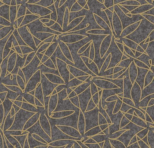 Vinylové podlahy Forbo Flotex vision floral 500016 Field Smoke