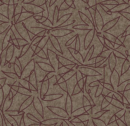 Vinylové podlahy Forbo Flotex vision floral 500019 Field Truffle