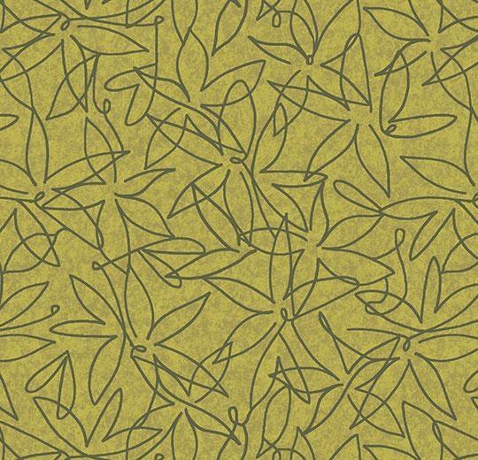 Vinylové podlahy Forbo Flotex vision floral 500024 Field Lime