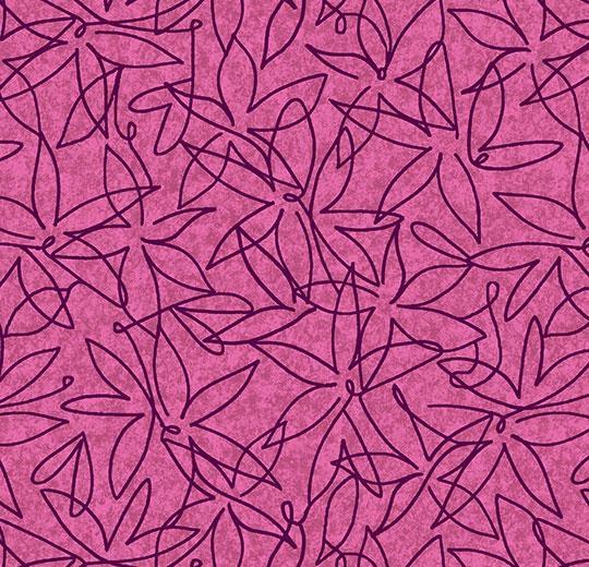 Vinylové podlahy Forbo Flotex vision floral 500026 Field Berry