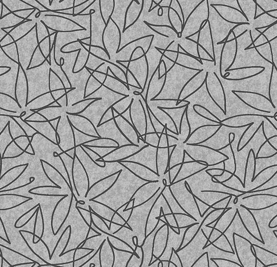 Vinylové podlahy Forbo Flotex vision floral 500027 Field Shale