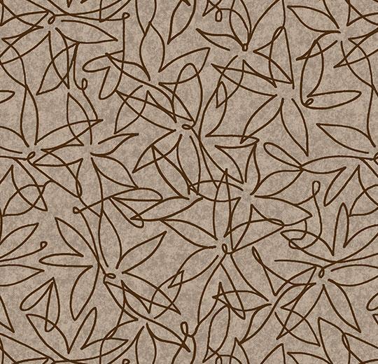 Vinylové podlahy Forbo Flotex vision floral 500029 Field Fossil