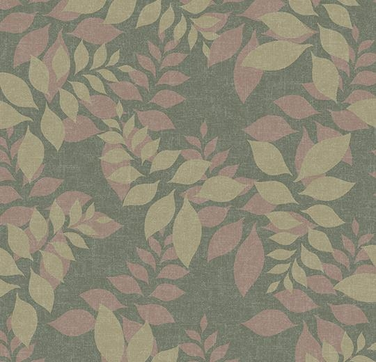 Vinylové podlahy Forbo Flotex vision floral 640001 Autumn Moss