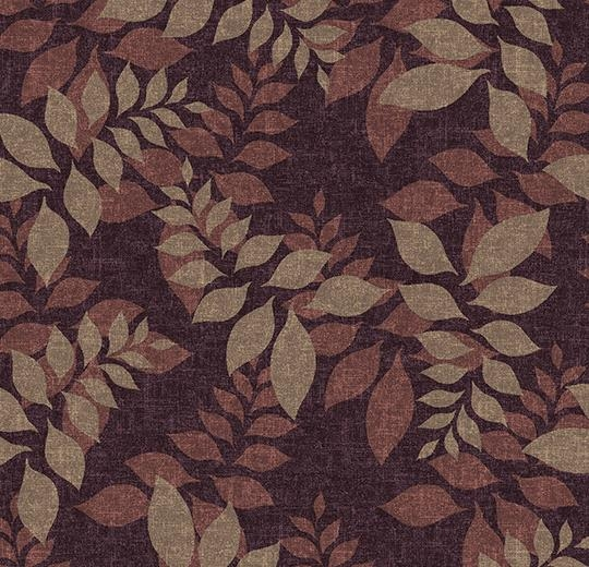 Vinylové podlahy Forbo Flotex vision floral 640012 Autumn Mulberry