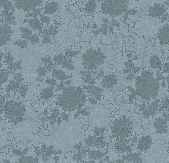 Vinylové podlahy Forbo Flotex vision floral 650001 Silhouette Glacier