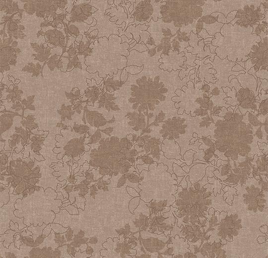 Vinylové podlahy Forbo Flotex vision floral 650002 Silhouette Clay