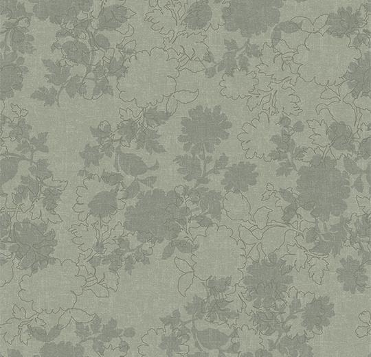 Vinylové podlahy Forbo Flotex vision floral 650003 Silhouette Mint