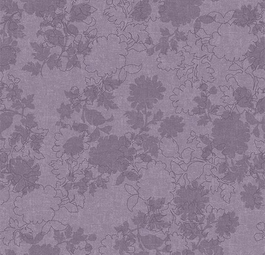Vinylové podlahy Forbo Flotex vision floral 650005 Silhouette Blueberry