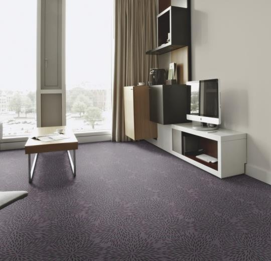 Forbo Flotex vision floral 660001 Firework Berry
