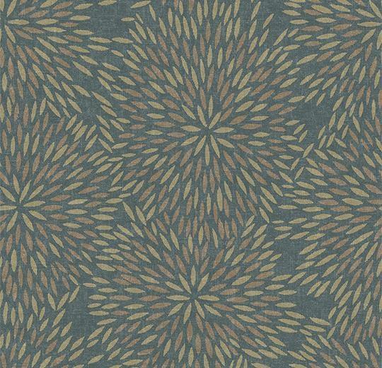 Vinylové podlahy Forbo Flotex vision floral 660006 Firework Seagrass