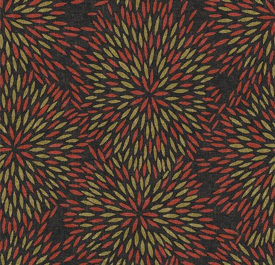Vinylové podlahy Forbo Flotex vision floral 660007 Firework Rosewood