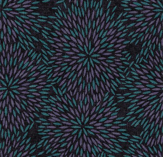 Vinylové podlahy Forbo Flotex vision floral 660009 Firework Amethyst