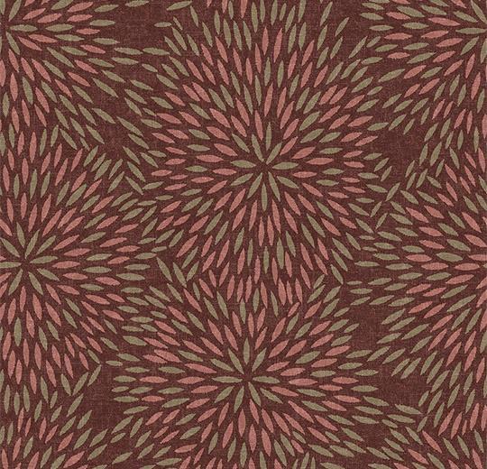 Vinylové podlahy Forbo Flotex vision floral 660011 Firework Sienna