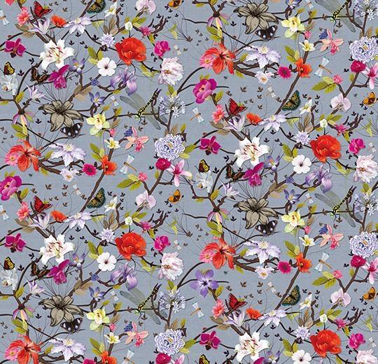 Vinylové podlahy Forbo Flotex vision floral 840002 Botanical Camellia