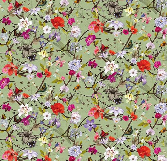 Vinylové podlahy Forbo Flotex vision floral 840003 Botanical Orchid
