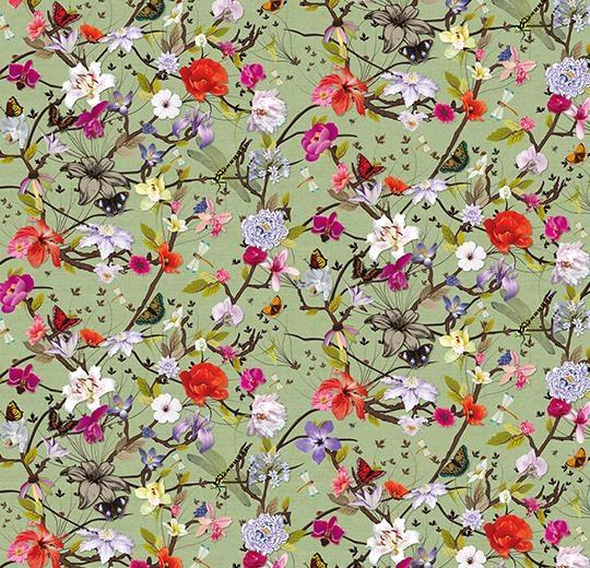 Vinylové podlahy Forbo Flotex vision floral 840003 Botanical Orchid
