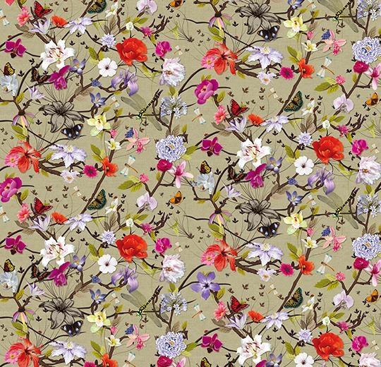 Vinylové podlahy Forbo Flotex vision floral 840004 Botanical Poppy