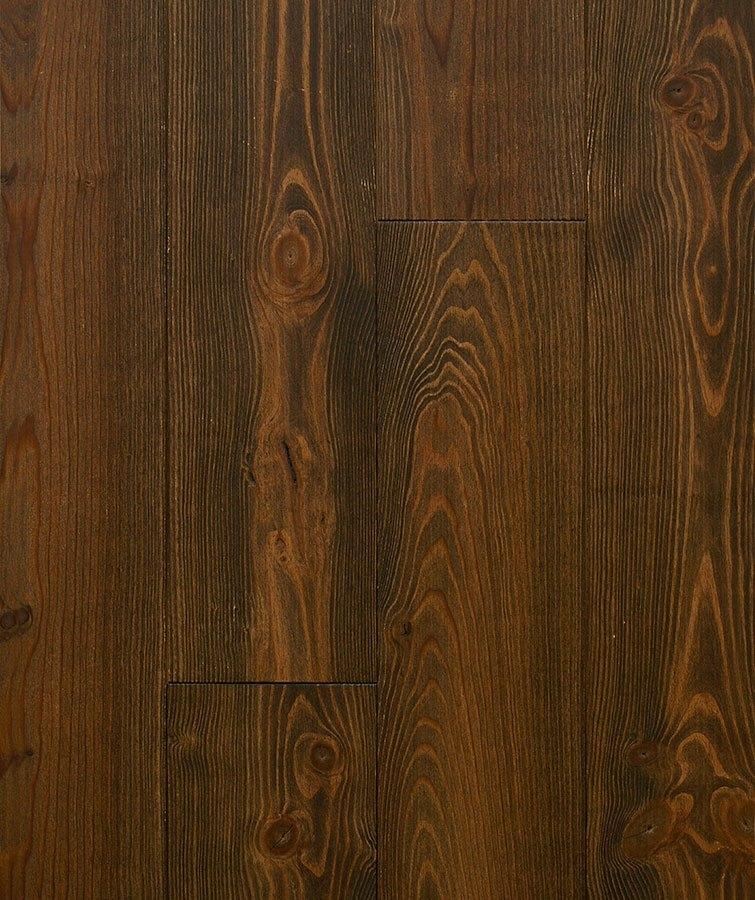 Dřevěné podlahy Esco - Prkno 200 - Borovice - Koloniál eben
