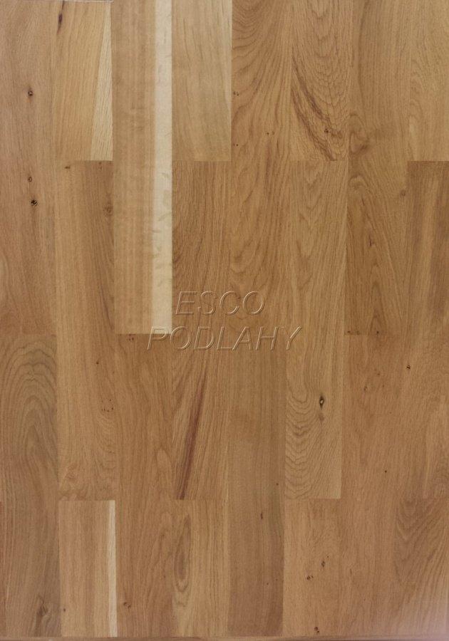 Dřevěné podlahy Esco - Dubové parkety - Kvalita III. s bělí