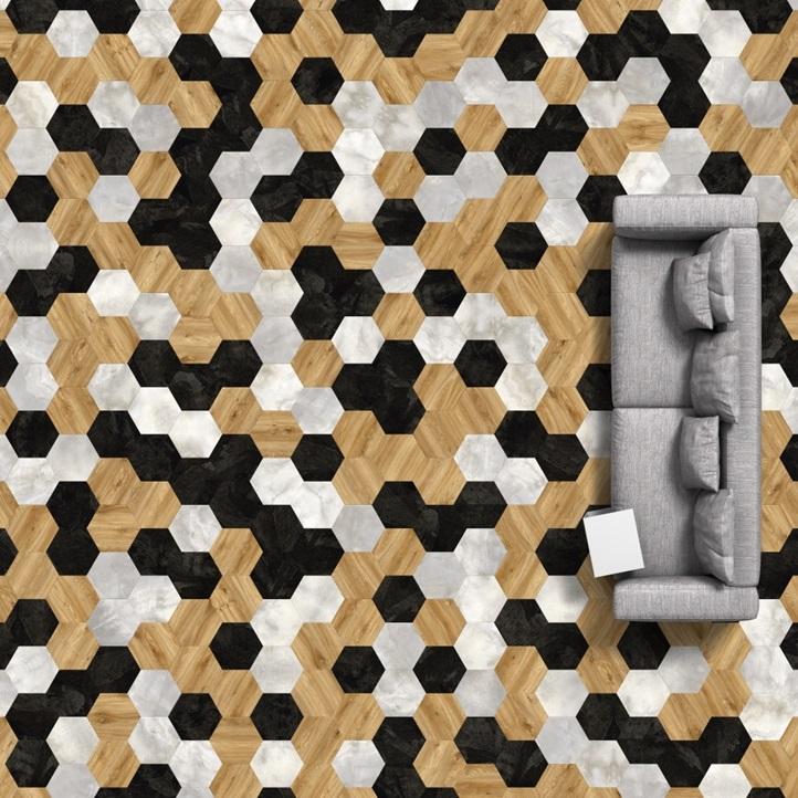 Vinylové podlahy Moduleo Moods Big Hexagon 260