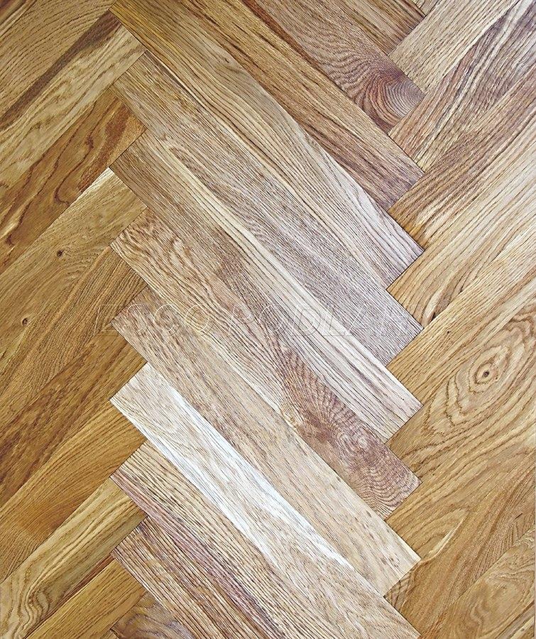 Dřevěné podlahy Esco - Dubové parkety olejované KOLONIAL - naturel