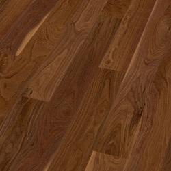 Dřevěné podlahy Scheucher - Prkno 182 - Ořech americký natur