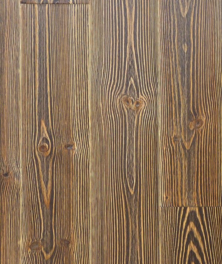 Dřevěné podlahy Esco - Prkno 200 - Borovice -  Rembrant antracit
