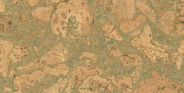 Korkové podlahy Granorte Tradition 72 901 92/73 901 92 - TWIST GREEN