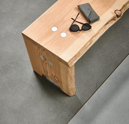 Forbo Allura Flex Material 63429FL1/63429FL5 iron cement (100x100 cm)