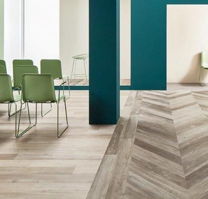 Forbo Allura Flex Wood 60356FL1/60356FL5 grey autumn oak
