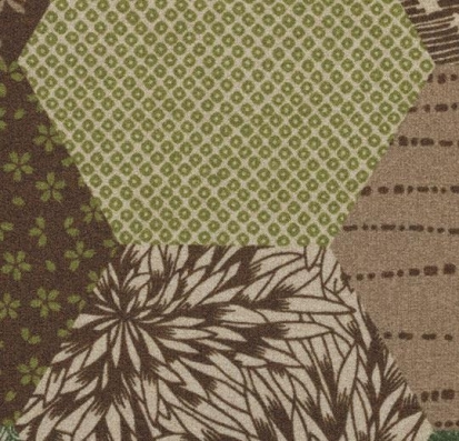 Forbo Flotex vision floral 200001 Ecosystems Kimono Green