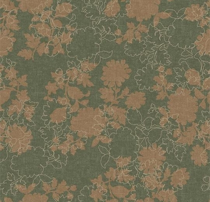 Forbo Flotex vision floral 650008 Silhouette Heath