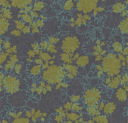Forbo Flotex vision floral 650010 Silhouette Mineral
