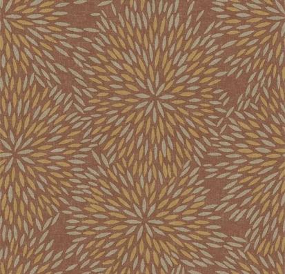 Forbo Flotex vision floral 660004 Firework Ginger