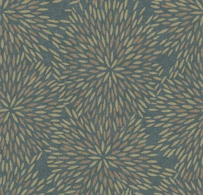 Forbo Flotex vision floral 660006 Firework Seagrass