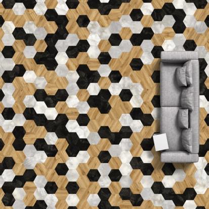 Moduleo Moods Big Hexagon 260