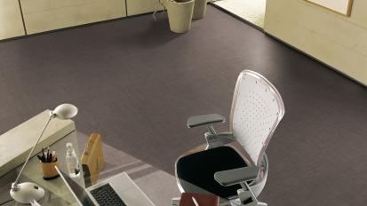 Pvc - gerflor - home - comfort - 1634 - tweed - brown - v2